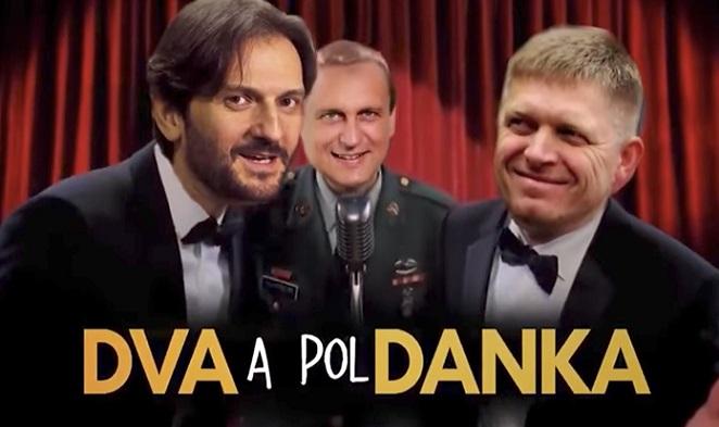 Tento slovenský sitkom ťa rozplače od smiechu! Pozri si seriál Dva a pol Danka
