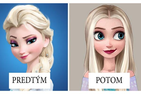 """Tá istá osoba, ale iný strih vlasov. Takto sa po """"návšteve kaderníčky"""" zmenili známe Disney hrdinky"""