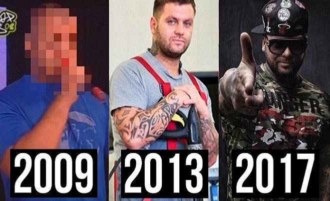 Obľúbený raper Kali sa počas svojej kariéry neuveriteľne zmenil! Na záberoch z roku 2009 by ho nespoznali ani skalní fans