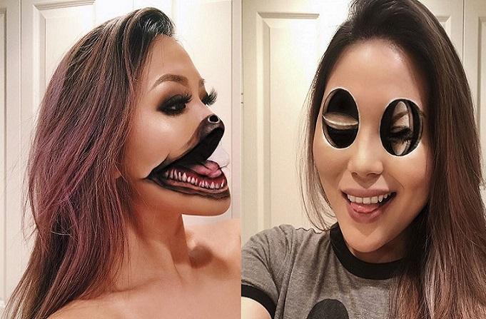 Mimi Choi: Táto maskérka dokáže s makeupom ozajstné divy. Optické ilúzie, ktoré vytvára, vás dostanú