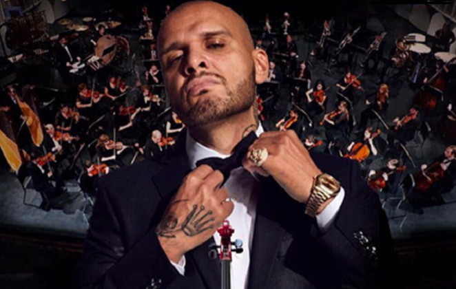 Rytmus sa chystá spojiť zdanlivo nespojiteľné – rap a symfonický orchester! Ak nevieš, ako prísť na tento koncert oblečený, odpoveď na to dal samotný Paťo