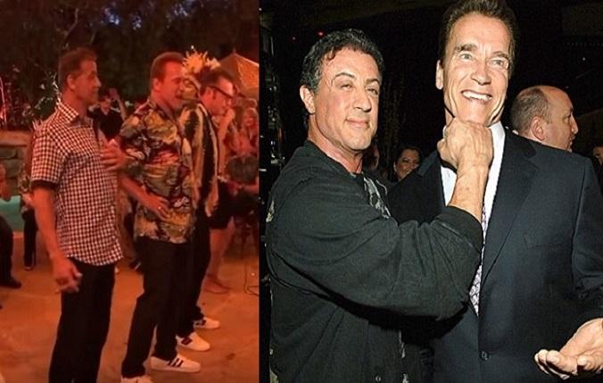 Arnold Schwarzenegger oslavoval: Tanečky so Sylvesterom Stallonem ťa úplne odrovnajú