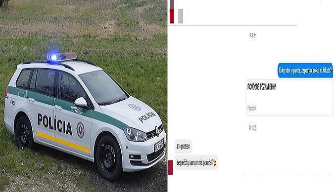 Slovenský tínedžer provokoval policajtov cez falošný profil. Tí si ho ale rýchlo našli a navštívili ho priamo doma