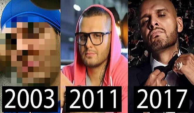 Rytmus sa počas svojej kariéry poriadne zmenil: V rapových začiatkoch je úplne chlapča a to nehovoriac o záberoch z deväťdesiatych rokov