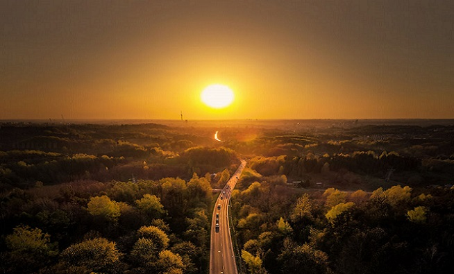Pomocou dronu zachytil neuveriteľnú krásu Litvy – krajiny, ktorá patrí medzi najkrajšie vôbec