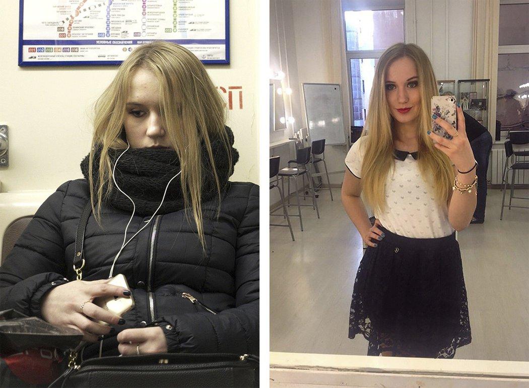 Fotograf porovnal fotografie ľudí na sociálnych sieťach s realitou. Pozrite sa, ako nás fotky veľakrát zavádzajú