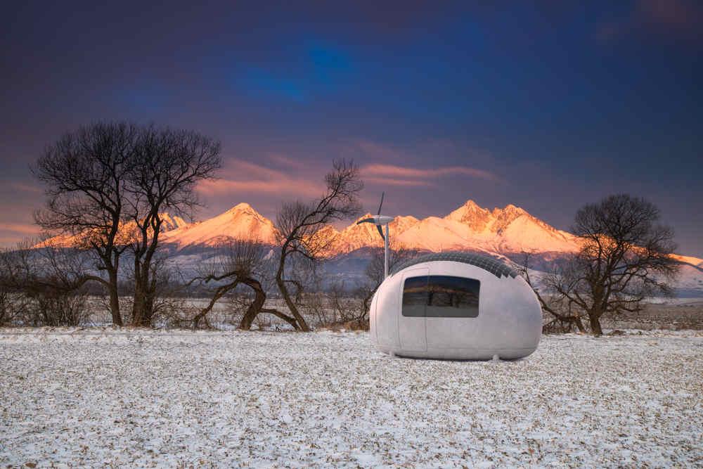 Ecocapsule – mobilné bývanie budúcnosti v súčasnosti!