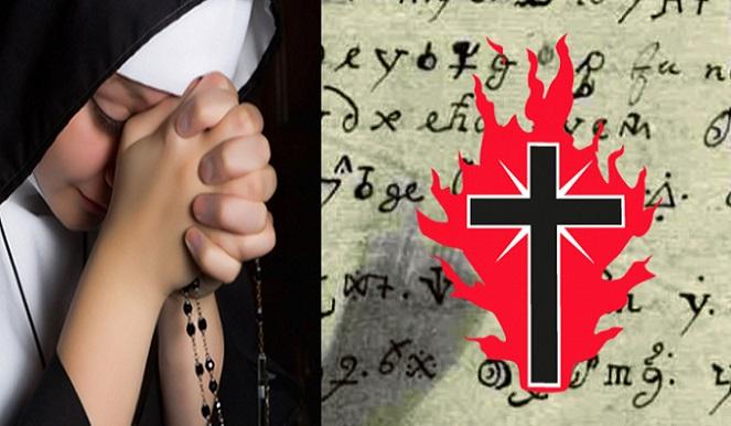 Mníška posadnutá diablom napísala v roku 1676 tajomný list, ktorý sa konečne podarilo preložiť: Takéto posolstvo ukrýva