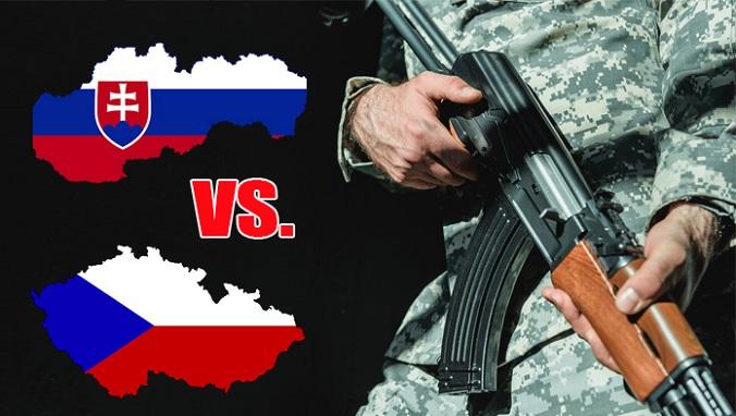 Armáda slovenská VS. armáda česká: Kto by vyhral prípadný vojenský konflikt?