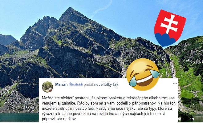 Marián vtipne, no trefne opísal TYPY TURISTOV: Toto všetko môžeš stretnúť v našich horách