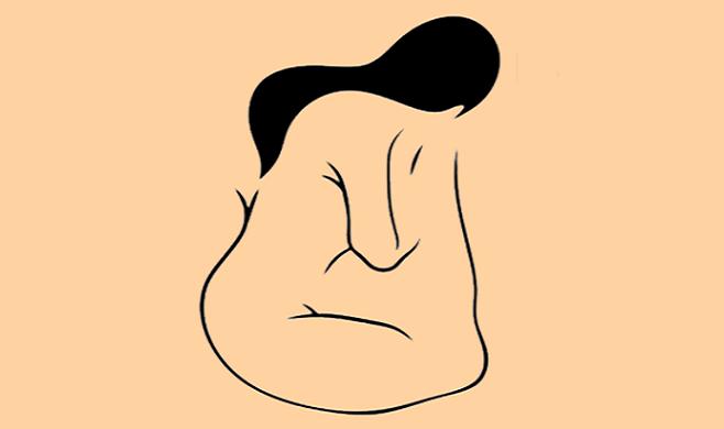 Vidíš na tomto obrázku schúlenú ženu alebo tvár muža? Odpoveď o tebe prezradí mnoho