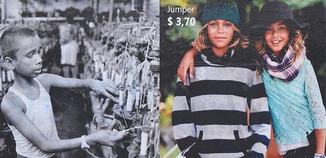 Billboardy v Poľsku ukazujú, čo sa ukrýva za tvojím lacným oblečením zo známych obchodov ako H&M či ZARA