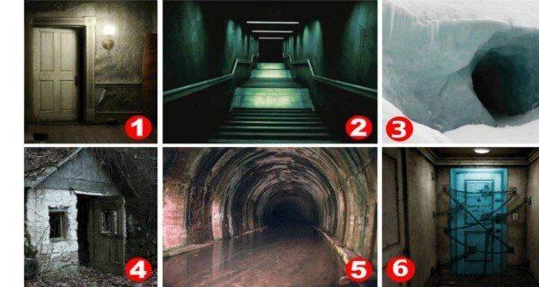 Ktoré z týchto dverí vás desia najviac? Podľa vášho výberu vám povieme, akým ste človekom