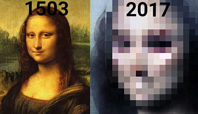 Legendárna Mona Lisa bola namaľovaná v šestnástom storočí. Ako by táto tajomná dáma vyzerala v roku 2017?