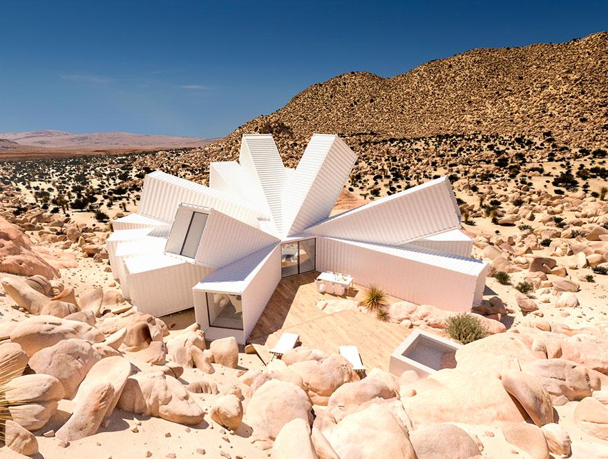 Keď je architektúra umením: Prepravné kontajnery sa premenili na neuveriteľné dielo, z ktorého vám spadne sánka