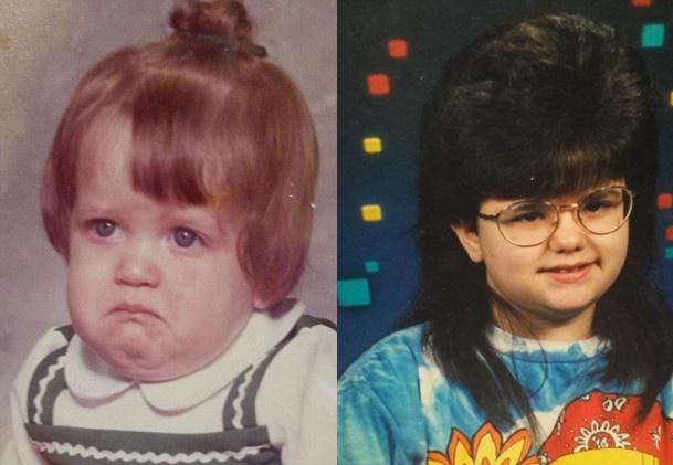 Ľudia sa podelili s internetom o svoje trápne školské fotografie: Toto vás dostane do kolien