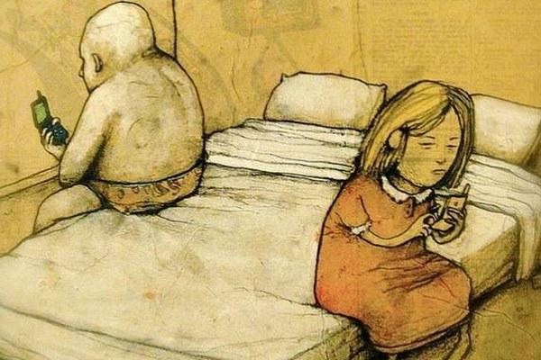 Umelec upozorňuje na dôležité problémy súčasnosti. Jeho kontroverzné ilustrácie vás donútia zamyslieť sa