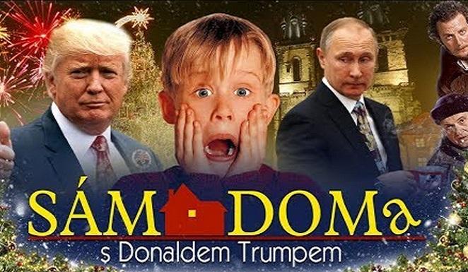 Kevin zo SÁM DOMA sa stratil a tentokrát v Prahe! Po krku mu ide Putin a zachrániť sa ho pokúsi Trump