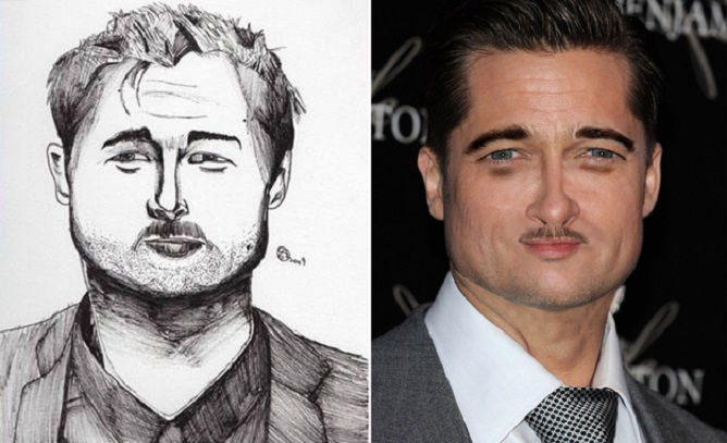 Zábavný fotošpeciál: Takto by vyzerali celebrity, keby boli identické s kresbami ich fanúšikov