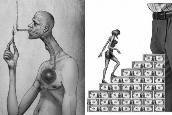 Pýtate sa, aký je dnešný svet? Tieto trefné ilustrácie to vystihujú tak, ako žiadne iné!