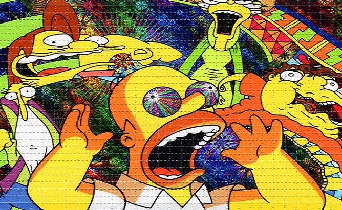 Vzal si LSD a 48 hodín sledoval Simpsonovcov. O seriáli i ľuďoch zistil krutú pravdu a rozhodol sa ju šíriť