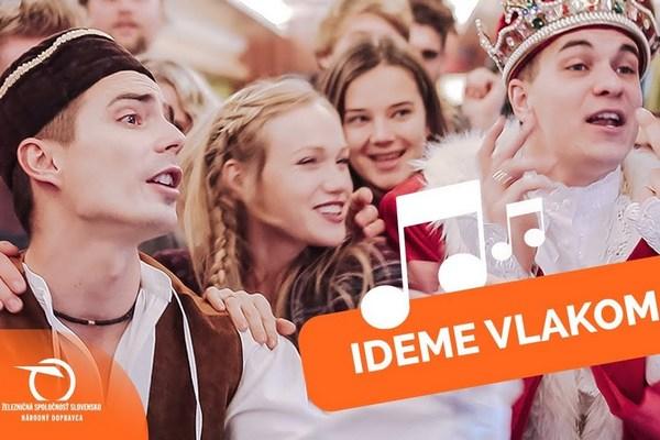Železničná spoločnosť Slovensko prekvapila piesňou o cestovaní. Jej chytľavý text len tak z hlavy nepustíte