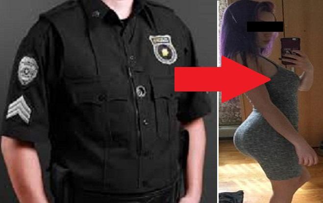 Policajti vyzvali dievča k tomu, aby im ukázalo prsia. Neskončili však iba pri tom