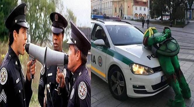 Slovenskí policajti zverejnili najvtipnejšie výroky z policajných zápisníc