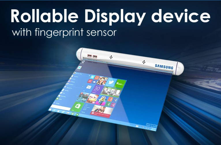 Samsung podáva žiadosť na patent pre rolovací displej