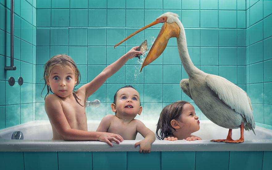 Talentovaný fotograf vytvára ohromné fotky svojej rodiny. Jeho tvorbu si jednoducho zamilujete