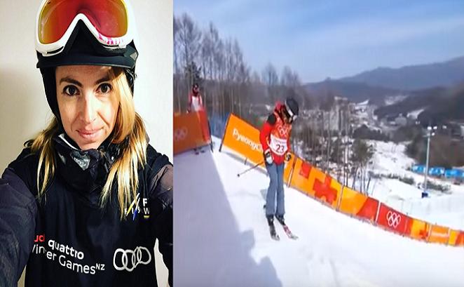 Američanka sa na olympiáde rozhodla reprezentovať Maďarsko. Keď uvidíš jej freestyle na lyžiach, odpadneš