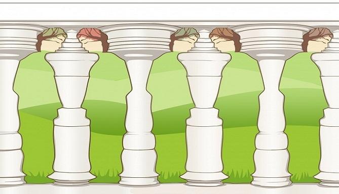 Všimol si si ako prvé stĺpy alebo ľudí? Odpoveď o tebe prezradí aj to, čo sám netušíš