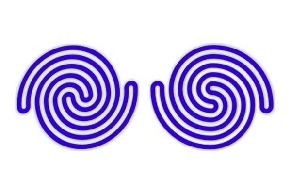 TEST: Jedna z týchto špirál pozostáva z 2 samostatných častí. Všimli ste si, ktorá?