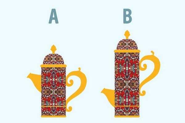 Ak čajník A obsahuje 32 šálok čaju, koľko šálok čaju obsahuje čajník B? Túto jednoduchú otázku správne vyriešilo len 10% ľudí