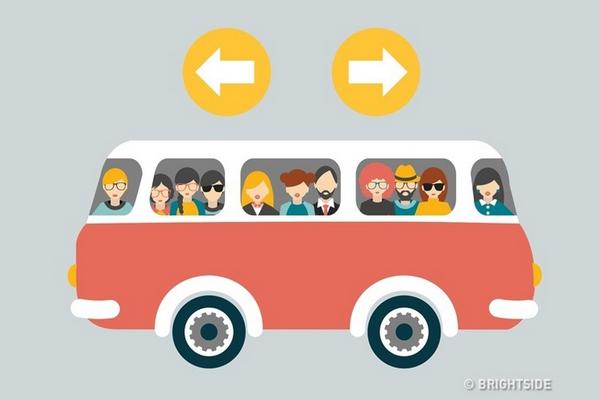 Vľavo alebo vpravo? Dokážete správne určiť, ktorým smerom pôjde tento autobus?