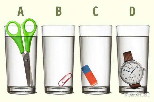 V ktorom pohári je podľa vás najviac vody? Jednoduchá otázka potrápila ľudí na internete!