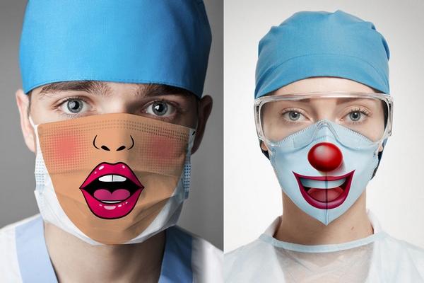Vyšetrenie u lekára vôbec nemusí byť postrachom. Pomôcť by mohli tieto originálne rúška na tvár