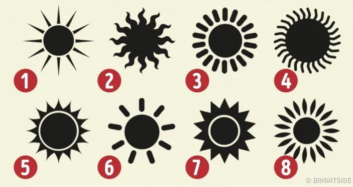 TEST OSOBNOSTI: Výber slnka o tebe prezradí skryté vlastnosti tvojej osobnosti