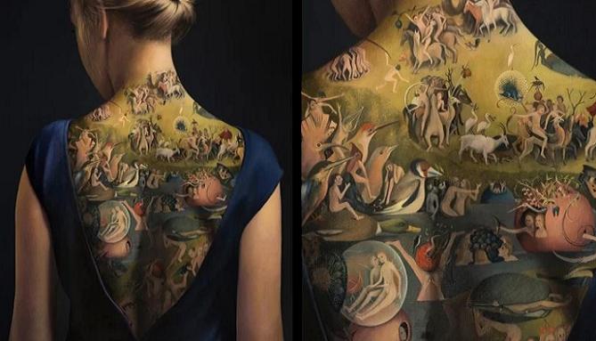 Na prvý pohľad žena s tetovaním na chrbte, no nie je to celkom pravda. Keď zistíš pravdu, padne ti sánka