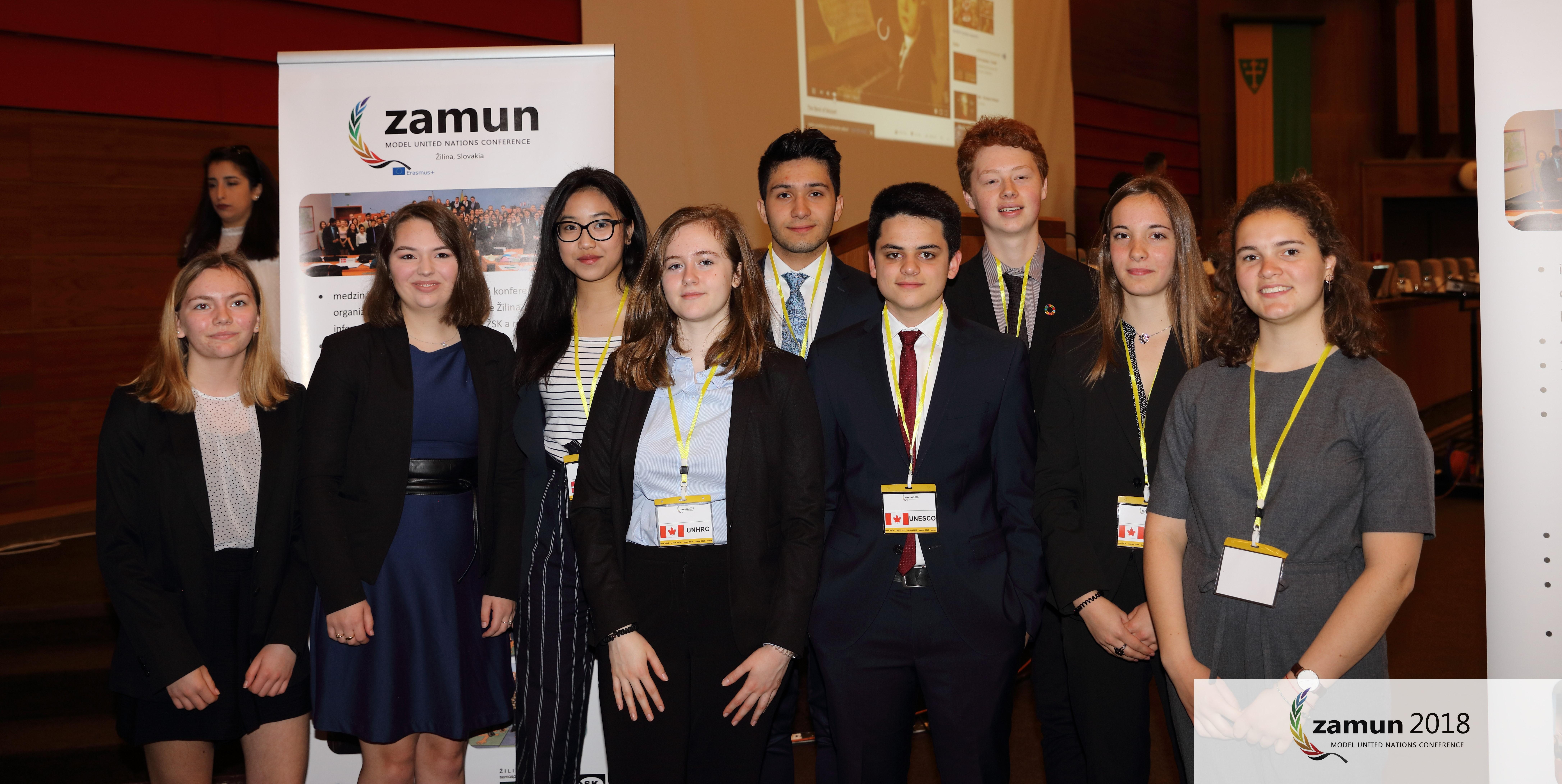 Modelové zasadnutie OSN prilákalo do Žiliny množstvo študentov z rôznych kútov sveta
