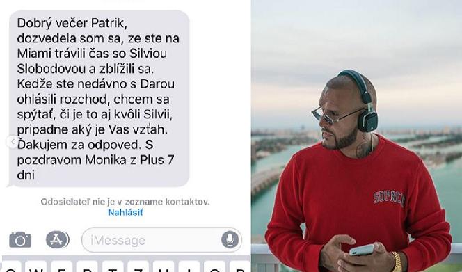 Rytmus dostal správu od novinárky, ktorá vyzvedala o jeho rozchode s Darou. TOTO odkazuje raper nielen jej, ale všetkým, ktorí to riešia