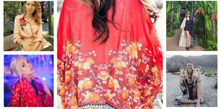 Zahaľte sa do chladivého kimona a staňte sa bohyňou pláže či letnej párty! 1000 a 1 spôsobov, ako ho zakomponovať do bežných outfitov!