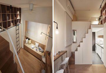 Bývanie iba na 22 metroch štvorcových? Mini byty sú maličké, no riešené tak inteligentne, že je v nich priestoru viac než dosť