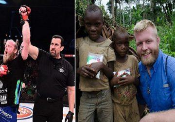 UFC zápasník sa vzdal zápasenia a rozhodol sa pomáhať v Keni. Vďaka nemu bolo oslobodených mnoho otrokov a ľudia získali aj vodu