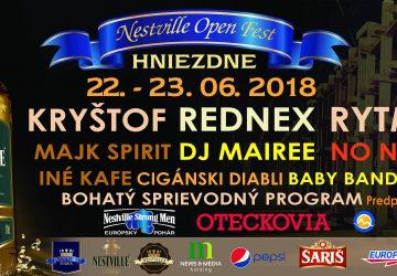 Kam ísť cez víkend: NESTVILLE OPEN FEST – multižánrový festival v Hniezdnom