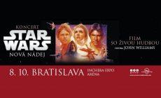 Fanúšikovia STAR WARS, značte si v kalendári 8. október. Čaká vás nezabudnuteľný zážitok!