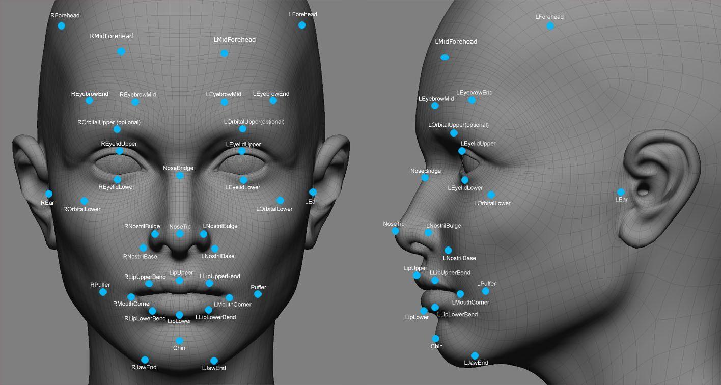 tvárová biometria