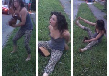 Opitá, zdrogovaná, psychicky chorá či posadnutá diablom? Internetom sa šíri video dievčiny s nekontrolovateľným správaním!