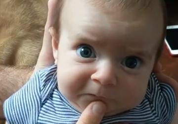 VIDEO: Rozkošné bábätko s vtipným oteckom valcujú internet! NIČ VTIPNEJŠIE SI NEVIDEL!