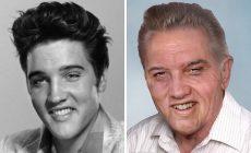 Elvis Presley, Bob Marley či John Lennon! Takto by pravdepodobne tieto hviezdy vyzerali dnes, keby stihli zostarnúť